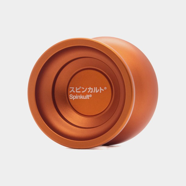 Gotham yo-yo in Spinkult Ed. / Orange by yoyorecreation