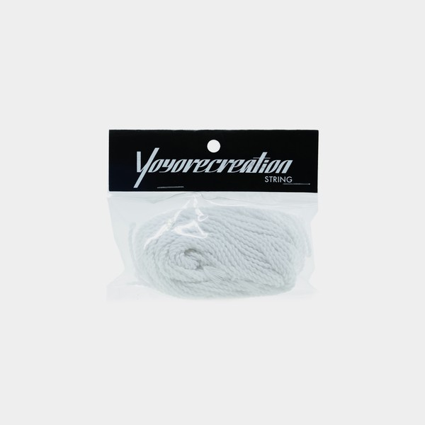 White yoyorecreation Fat x10 yo-yo strings by yoyorecreation